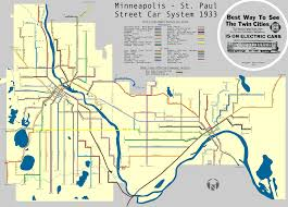 Public Transit Chicago Map by Beautiful Map Of Historic Twin Cities Streetcar Lines Net Density