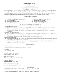 Resume Sample Volunteer by Emt Resume Sample Resume For Your Job Application
