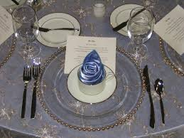 Black Blue And Silver Table Settings 105 Best Clear Charger Plates Images On Pinterest Marriage