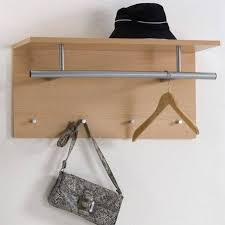 Wall Mounted Shelves Wood Plans by Furniture Un Polish Wooden Wall Mounted Hat Shelf With Steel