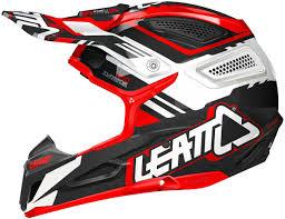 white motocross helmets leatt gpx 5 5 motocross helmet red black white buy cheap fc moto