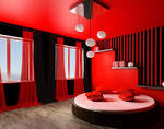 Ideas. Marvelous Red Colors Bedroom Interior Idea: Red Colors ...