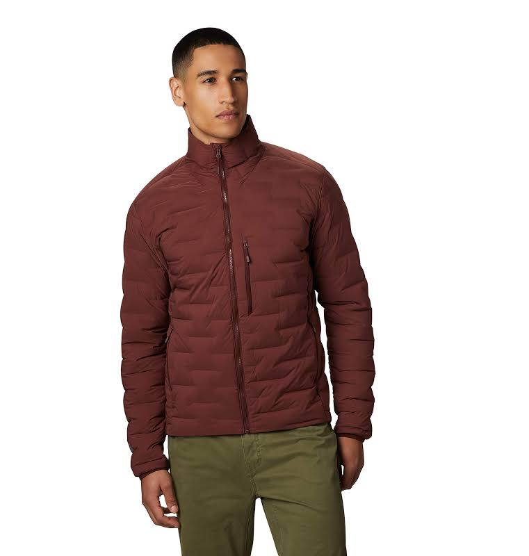 Mountain Hardwear Super/DS Stretchdown Jacket Dark Umber Large 1851281259-L