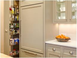 Kitchen Pantry Shelving Ideas by This Cherry Finished Pullout Pantry Looks Like A Very Convenient