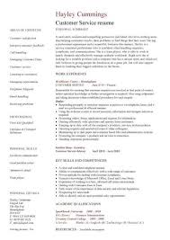 Sample Of Resume Skills And Abilities by Customer Service Resume Templates Skills Customer Services Cv