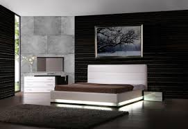 Bedroom Furniture New York by Exotic Leather Modern Contemporary Bedroom Sets Feat Light