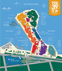 Street Map San Francisco by Pier 39 Map A Detail Map Of Pier 39 San Francisco