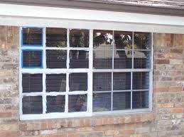 exterior ficek painting metal windows and window mullions plus