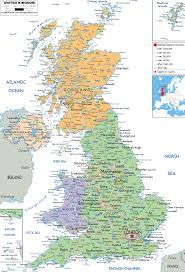 Detailed Map Of Germany by Map Of Uk Map Of United Kingdom And United Kingdom Details Maps
