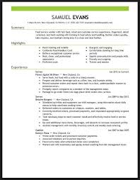 Resume Examples For Food Service by Restaurant Manager Resume Example Uk Resume Example Resume