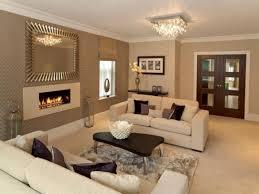 Modern Room Nuance Living Room Modern Cream Nuance Rectangular Gas Fireplace Nice