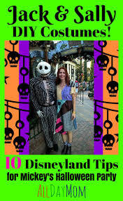 diy sally costume nightmare before christmas 10 disneyland tips