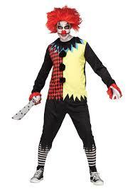freak show clown men costume scary costumes