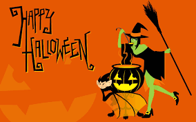 orange halloween hd background happy halloween desktop wallpapers wallpaper cave