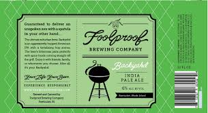 Foolproof Backyahd IPA