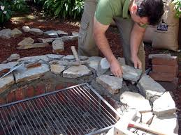 How To Make A Fire Pit In Backyard by How To Build A Fire Pit And Grill How Tos Diy