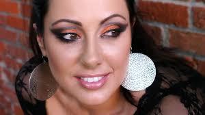 black and orange halloween friendly look makeup geek