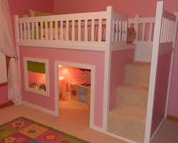 is this not the cutest thing ever playhouse loft bed with stairs
