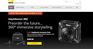 amazon black friday deals nikon camera accessories deals preorder the nikon keymission 360 and get a free accessory
