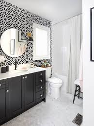 Black And White Small Bathroom Ideas Gorgeous Black And Amazing Black And White Bathroom Bathrooms