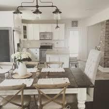 Best  Farmhouse Table Chairs Ideas On Pinterest Farmhouse - Farmhouse kitchen tables