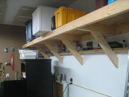Simple Free Standing Shelf Plans by Best 25 Garage Shelving Ideas On Pinterest Building Garage