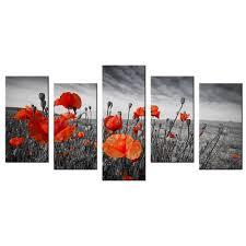 online buy wholesale orange flower prints from china orange flower