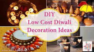 Diwali Decoration In Home Low Cost Diwali Decoration Ideas K4 Craft