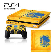 ps4 console amazon black friday ps4 nba 1 golden state warriors whole body vinyl skin sticker