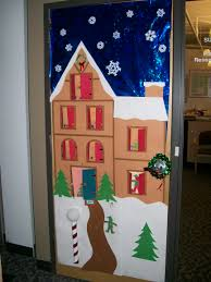 Office Door Design Prepossessing 30 Christmas Office Door Decorating Design Of 67