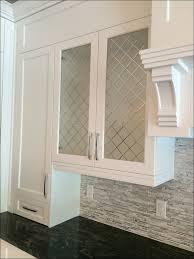 Kitchen Cabinet Doors White Kitchen Glass Inserts Leaded Glass Cabinet Doors Etched Glass