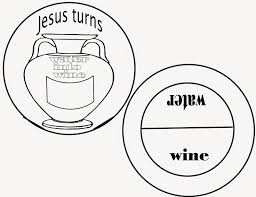 turning pictures into coloring pages 77 best wedding at cana images on pinterest sunday