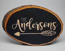 Personalized Signs For Home Decorating Custom Wood Signs Familyfotofun