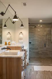 Modern Master Bathroom Ideas Fixer Upper Joanna Gaines Concrete Countertops And Mid Century