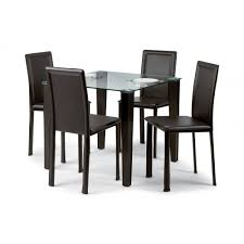 Black Dining Room Chairs Set Of  Dining Rooms - Black dining table for 4