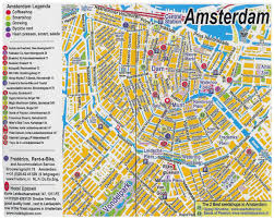 Detailed Map Of Germany by Maps Of Amsterdam Detailed Map Of Amsterdam In English Maps Of