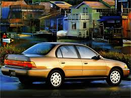 toyota cars usa automotive history 1992 1998 toyota corolla ceres sprinter marino