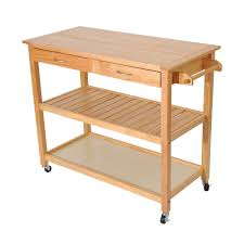Island Cart Kitchen Amazon Com Homcom 45