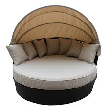 Patio Furniture Lowes Canada - wd patio 5tao round tao day bed lowe u0027s canada