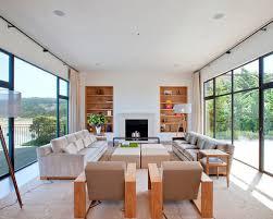 Modern Minimalist Living Room Houzz - Minimalist living room designs
