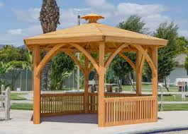 Custom Gazebo Kits by Park Pavilion Kits Custom Made Outdoor Wood Pavilion Kits