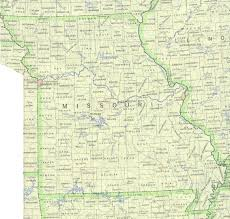 United States Map Major Cities by Missouri Outline Maps And Map Links