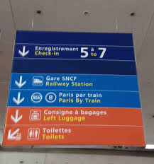 Charles De Gaulle Airport Map Paris First Things First
