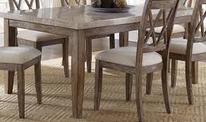 franco marble top dining table from steve silver fr500wt