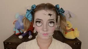 Halloween Doll Makeup Ideas by Broken Porcelain Doll Makeup Halloween Costume Pinterest