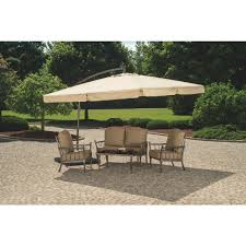 Offset Patio Umbrella by Outdoor Expressions 10 Ft Gazebo Offset Patio Umbrella Tjaul
