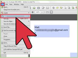 How To Unlock Excel Spreadsheet How To Create A Password Protected Pdf Document In Adobe Acrobat