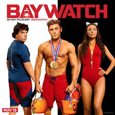 new baywatch posters celebrate halloween with zac efron u0026 the rock
