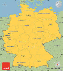 Map Germany by Savanna Style Simple Map Of Germany