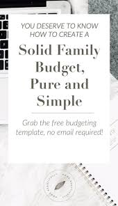 Sample Home Budget Spreadsheet Best 25 Home Budget Template Ideas On Pinterest Home Budget
